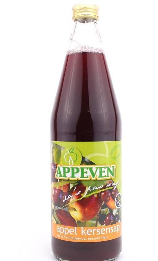 Appel kersensap Appeven 750ml