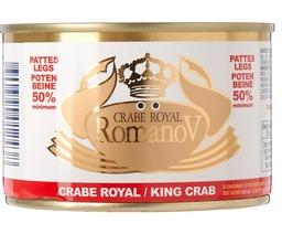 Crab romanov king crab