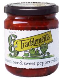 Cucumber sweet pepper relish 220gr