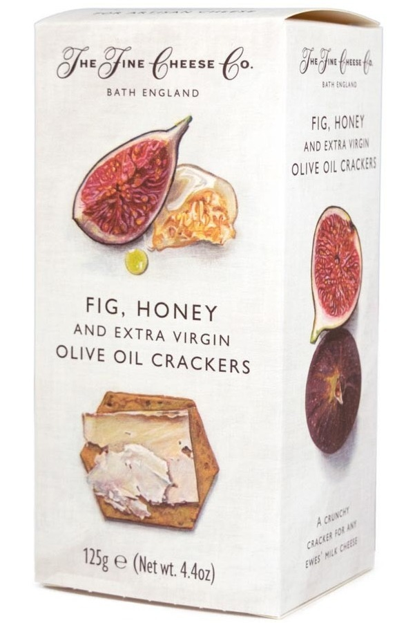 Fig honey crackers