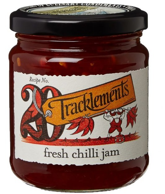 Fresh chili jam 250 gr trackle