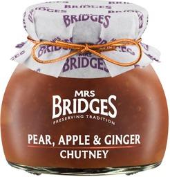 Pear, apple ginger chutney mb 100gr