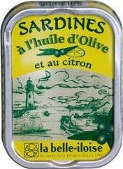 Sardines citron belle iloise