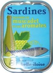 Sardines muscadet belle iloise