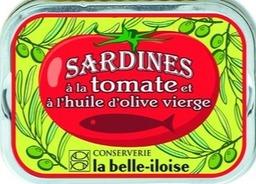 Sardines tomate belle iloise