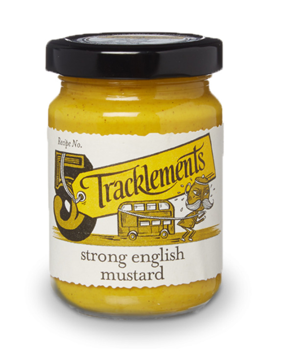 Strong english mustard 140 gr trackle