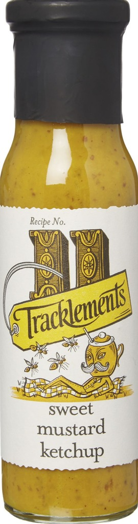 Sweet mustard ketchup trackle