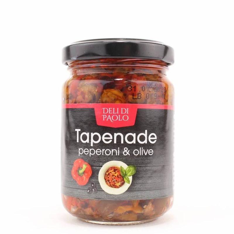 Tapanade peperoni olive deli di paolo
