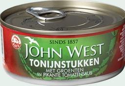Tonijnstukken met groente