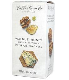 Walnut honey crackers