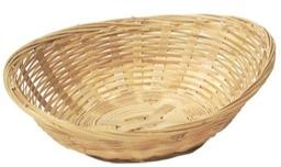 Bamboe Mand Ovaal