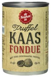 Kaasfondue in Blik met truffel