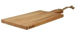 MB Beuken plank 49x20x2 met greep en touw