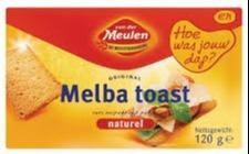 Melba Toast Naturel