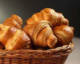 Croissants om zelf af te bakken