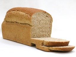 Licht bruin brood half