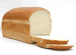 Melkwit brood half