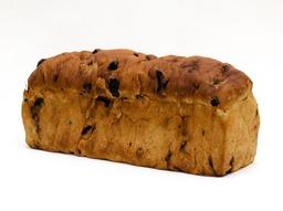 Rozijnenbrood met spijs heel