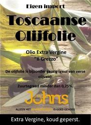 Toscaanse olijfolie 250 ml