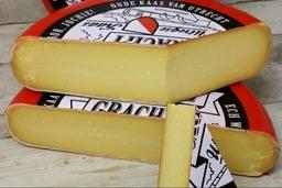 Utrechtse Oude Gracht  kaas