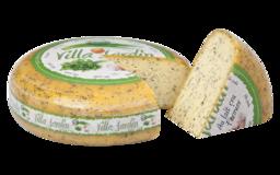 Hollandse kaas met verse tuinkruiden