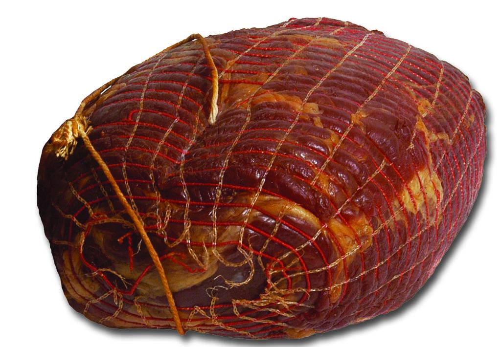 Magere rauwe ham