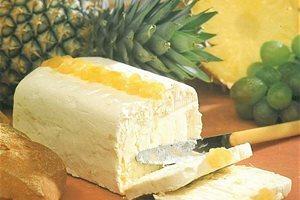 Verse roomkaas ananas