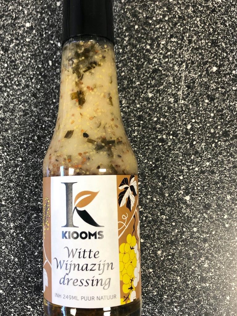 Witte azijn dressing