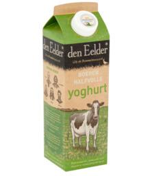 Half volle (magere) yoghurt