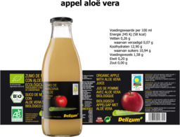 Appelsap met Aloe Vera Delizum 750ml