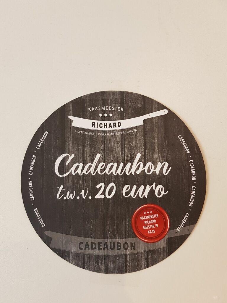 Cadeaubon 20,00