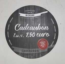 Cadeaubon 7,50