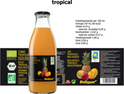Tropicalsap Delizum 750ml
