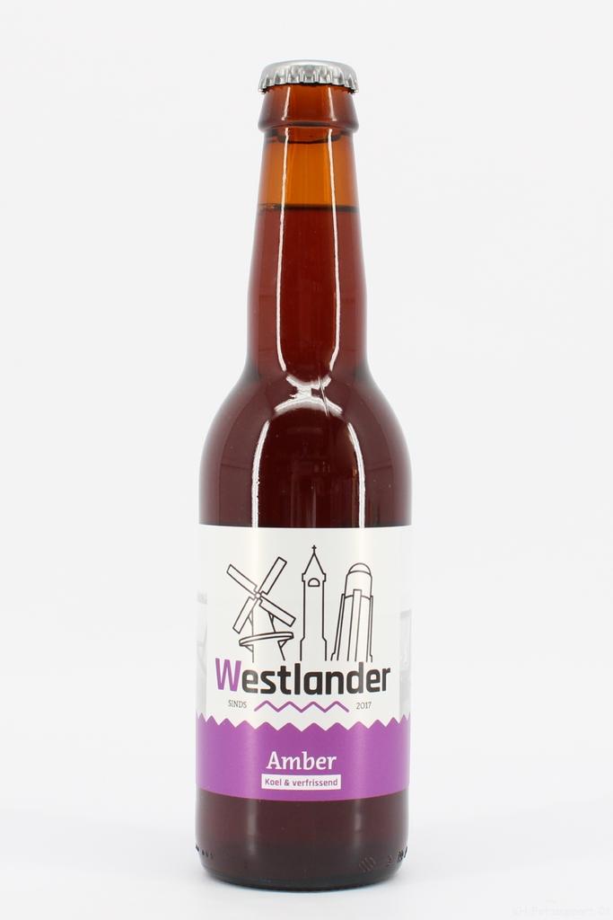 Westlander bier Amber 33cl