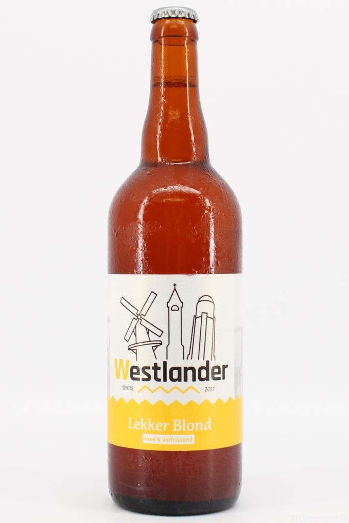 Westlander Bier Lekker Blond 75cl