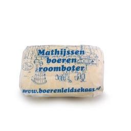 Mathijssen boerenroomboter a 250 gram